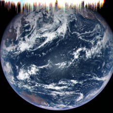 Earth from OSIRIS-REx MapCam