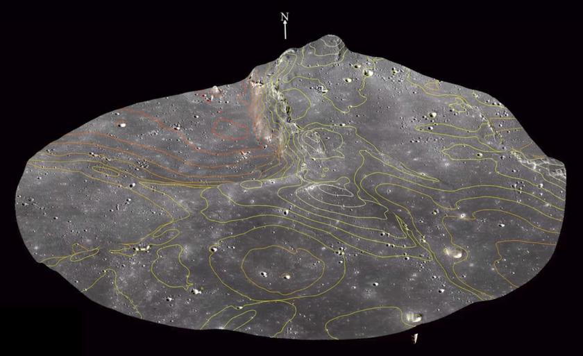 Beresheet Landing Site (Detail)