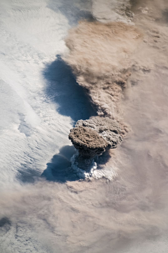 Volcanic plume