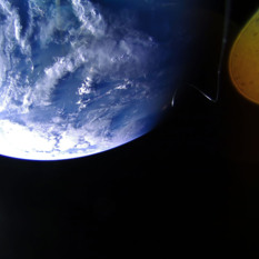 Earth from LightSail 2