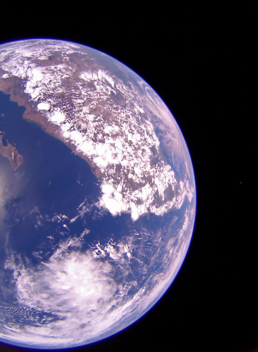 Mexico from LightSail 2