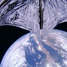 LightSail 2 During Sail Deployment Sequence (Camera 2)