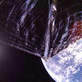 LightSail 2 over the Caribbean (Camera 1, Processed)