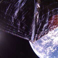 LightSail 2 over Caribbean