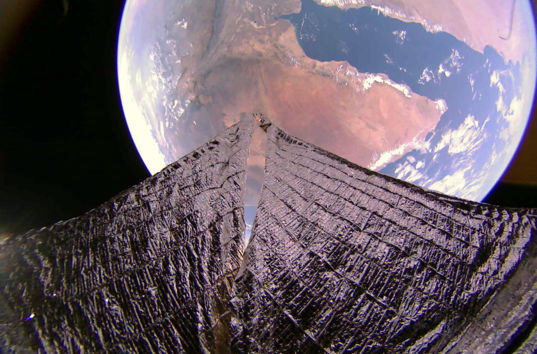 Horn of Africa and Gulf of Aden from LightSail 2
