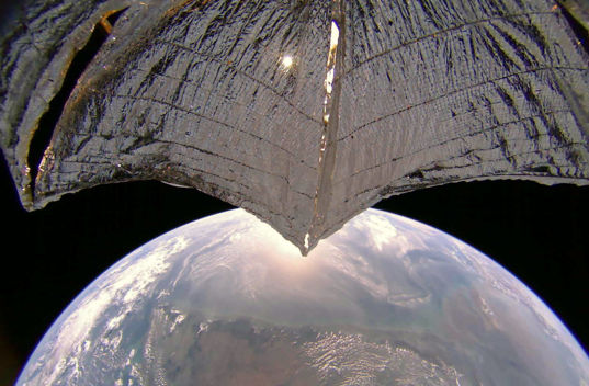 West coast of India from LightSail 2
