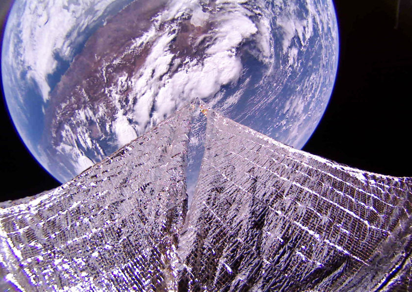 Chile from LightSail 2