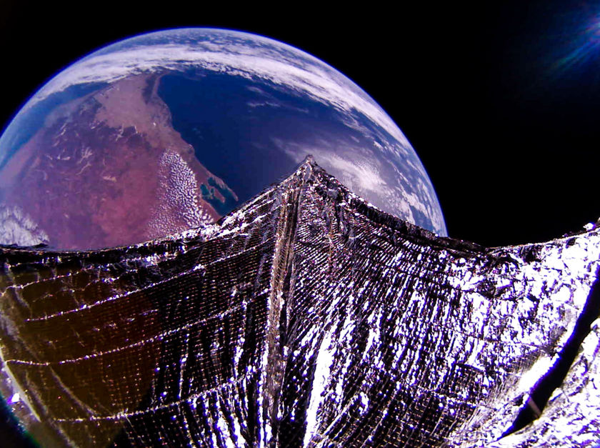 Southwest coast of Australia from LightSail 2