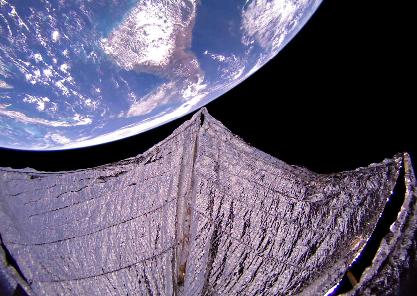 Central America from LightSail 2