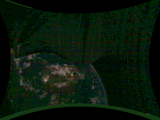 India at Night from LightSail 2
