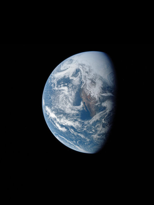 Earth by Apollo 13 crew