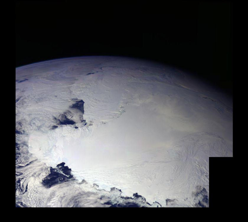 Antarctica from Galileo