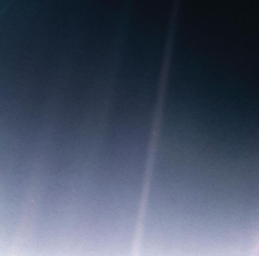 Pale Blue Dot Revisited