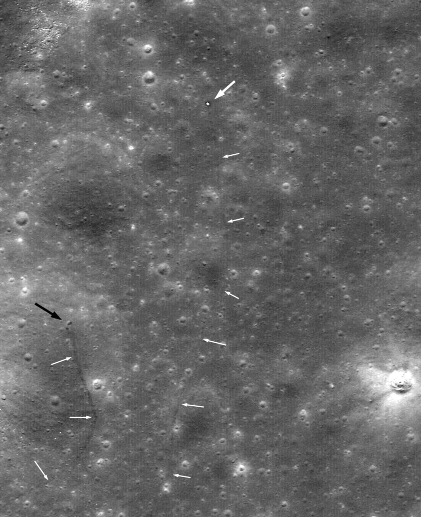The final resting place of Lunokhod 2