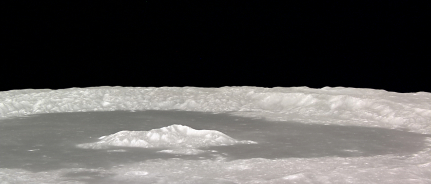 Tsiolkovsky Crater Close-Up