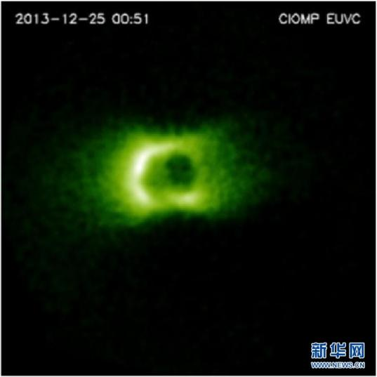 Earth in the ultraviolet from Chang'e 3