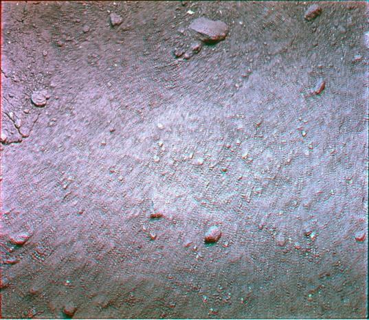 Undisturbed soil (Apollo 11)