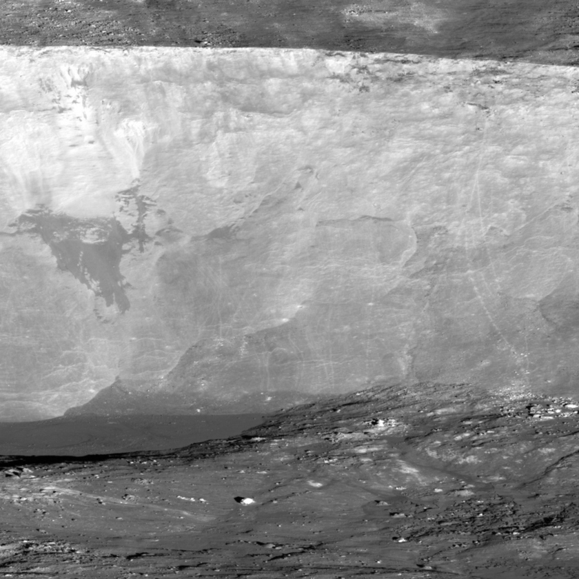Giordano Bruno Crater - Detail