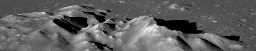 Hausen Crater Central Peaks