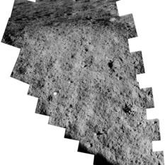 Surveyor 5 surface panorama