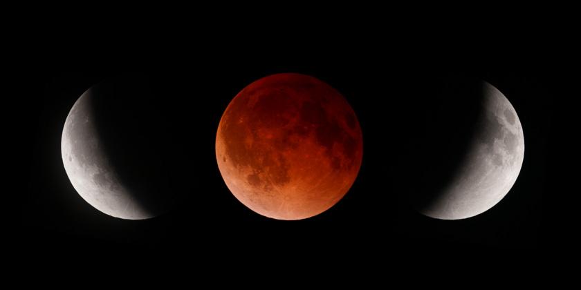 April 2014 Lunar Eclipse Composite