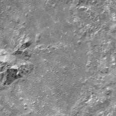 Tycho crater from Chang'e 2