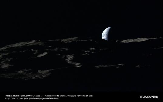 Earthset from Kaguya