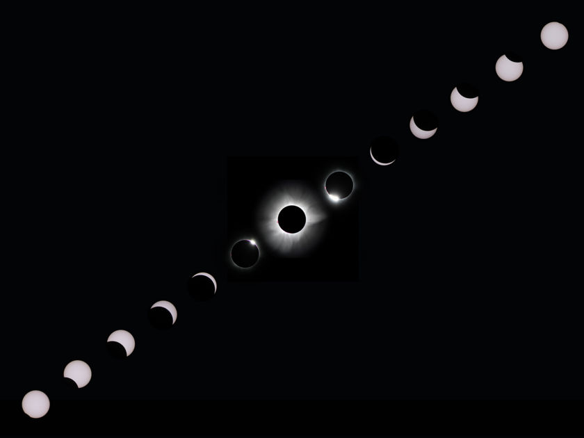 Total solar eclipse on March 9, 2016