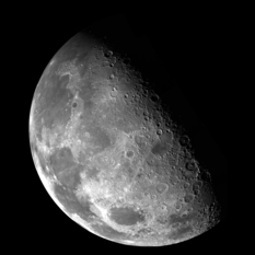 The north pole of the Moon from Galileo