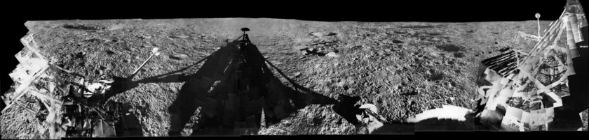 Surveyor 1 panorama