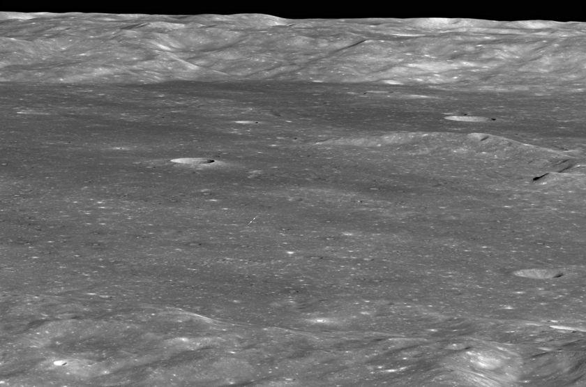 Chang'e-4 inside Von Kármán crater