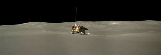 Chang'e-4 lander during lunar day 2