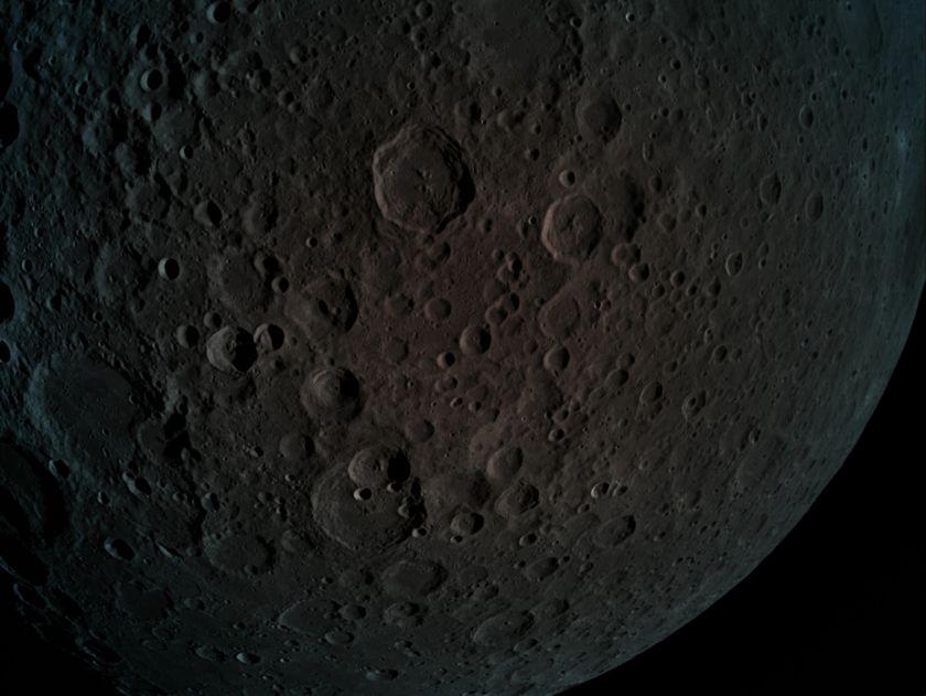 Lunar Far Side from Beresheet