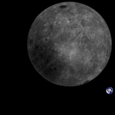 Full-disc Moon and Earth from Longjiang-2