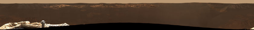 Opportunity Mission Success Panorama, sols 2-5
