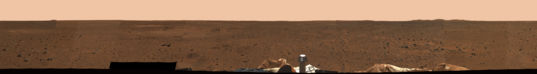 Spirit Mission Success Panorama, sol 3