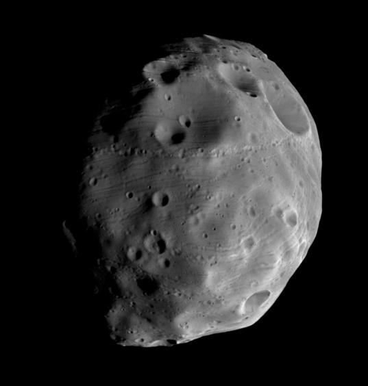 Phobos: Anti-Mars hemisphere