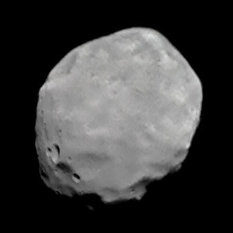 Phobos global view from Phobos 2