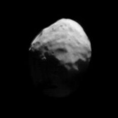 Phobos distant global view from Phobos 2