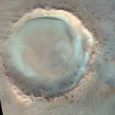 Dokka Crater, Mars