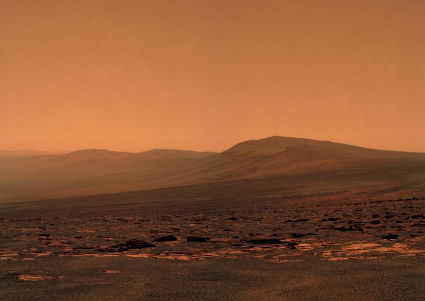 Endeavour's eastern rim, Opportunity sol 2678