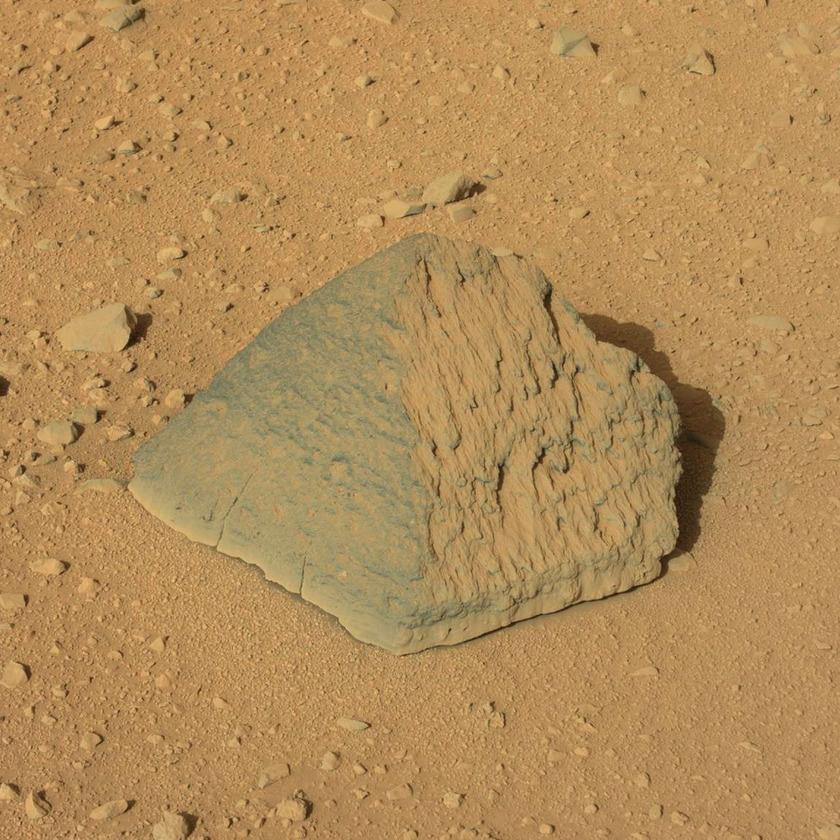 Jake Matijevic rock, Curiosity sol 44