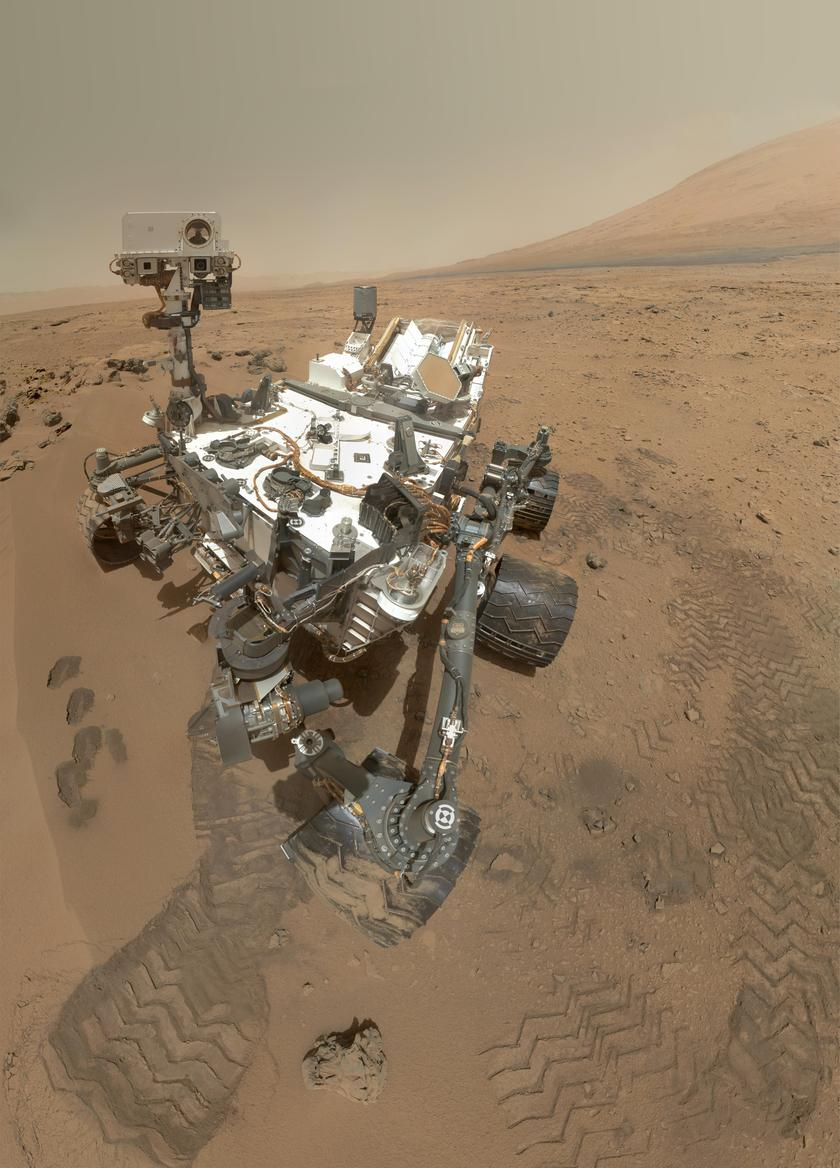 Curiosity MAHLI self-portrait, sol 84