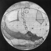 Location map for the Mariner 4 Mars images