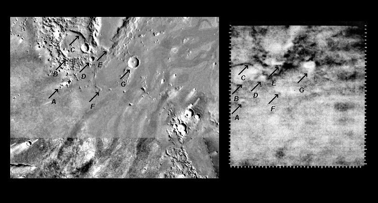 Mariner 4 images with Viking Orbiter comparisons