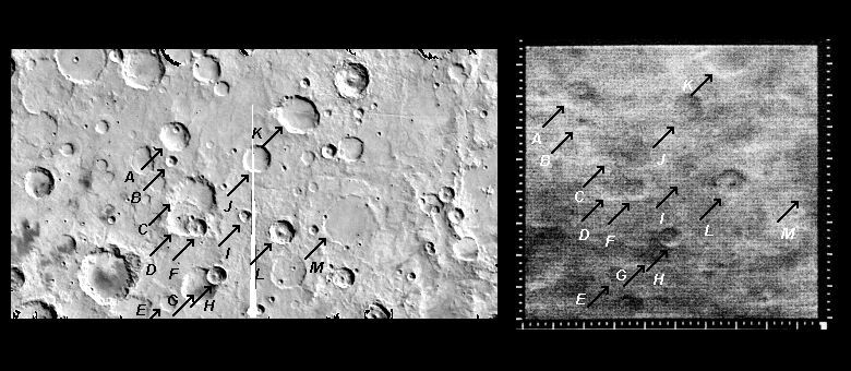 Mariner 4 image #9 compared with Viking