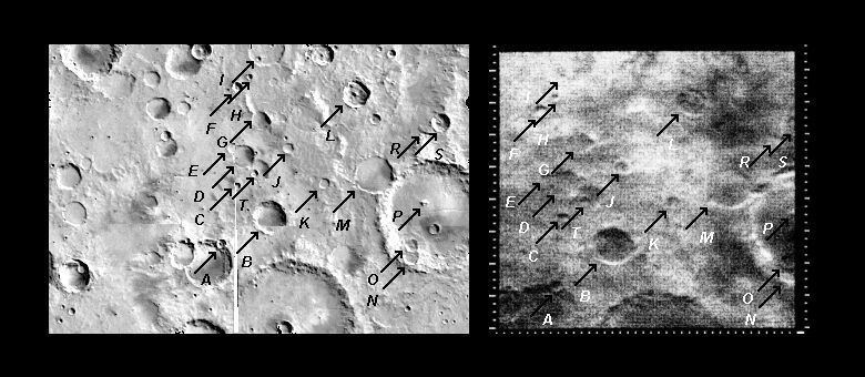 Mariner 4 image #10 compared with Viking