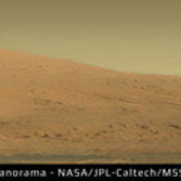 Mount Sharp / Aeolis Mons, Curiosity sol 45 Mastcam-100 panorama
