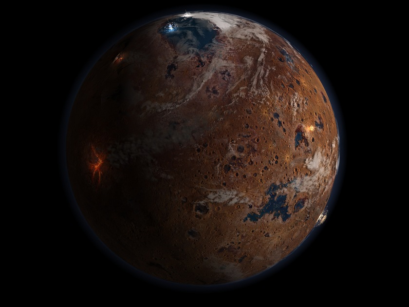 Mars in the Noachian period