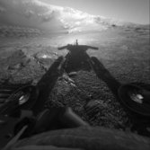 Opportunity self-portrait in shadow, sol 180